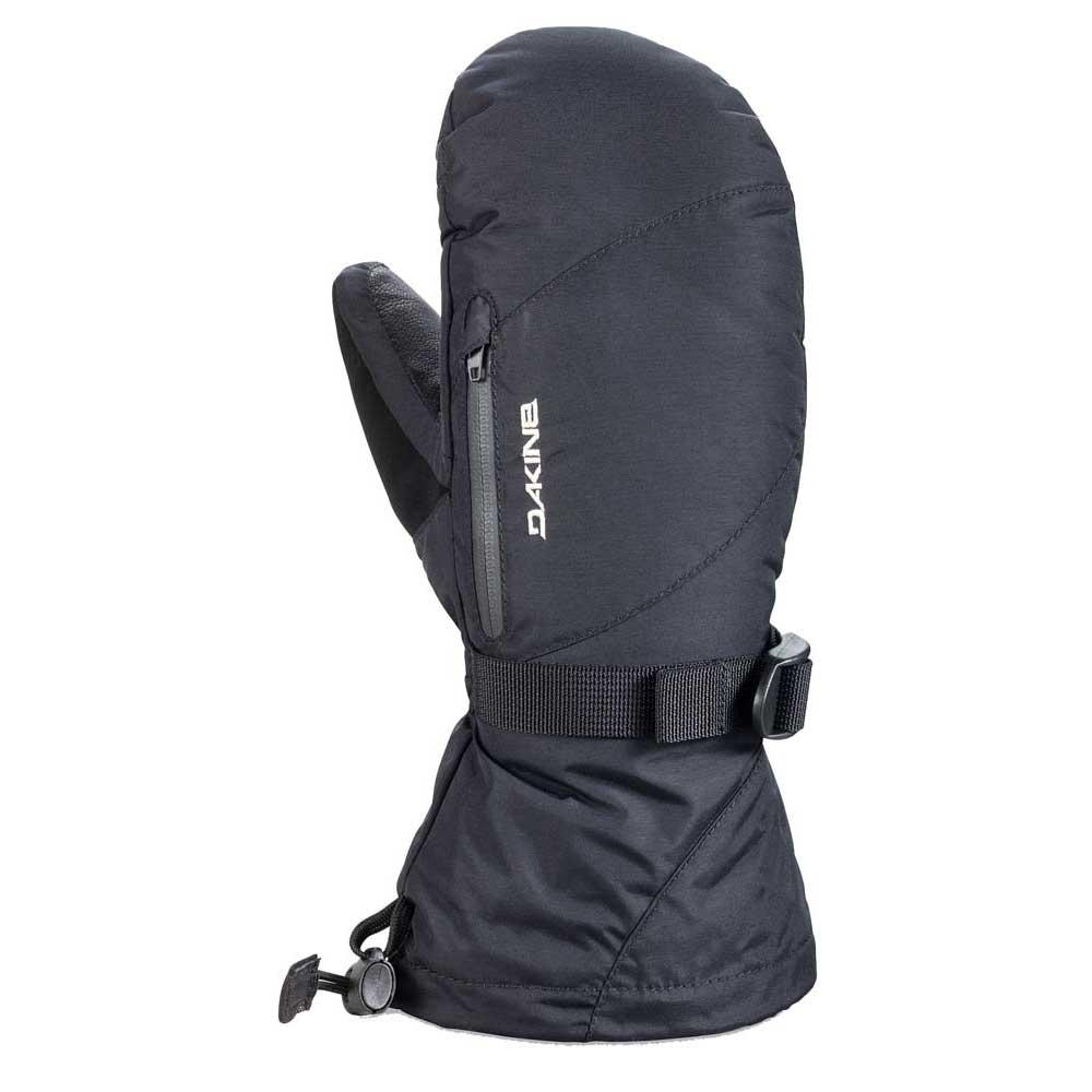 dakine-leather-sequoia-mitt-l-black