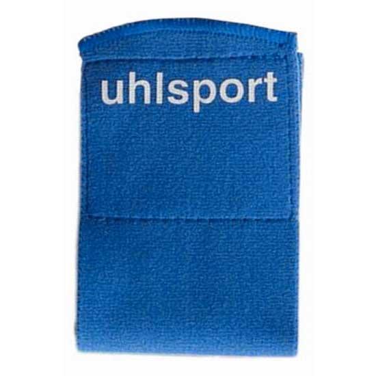 Uhlsport Shinguard Fastener 65 Mm 6 Units One Size Royal