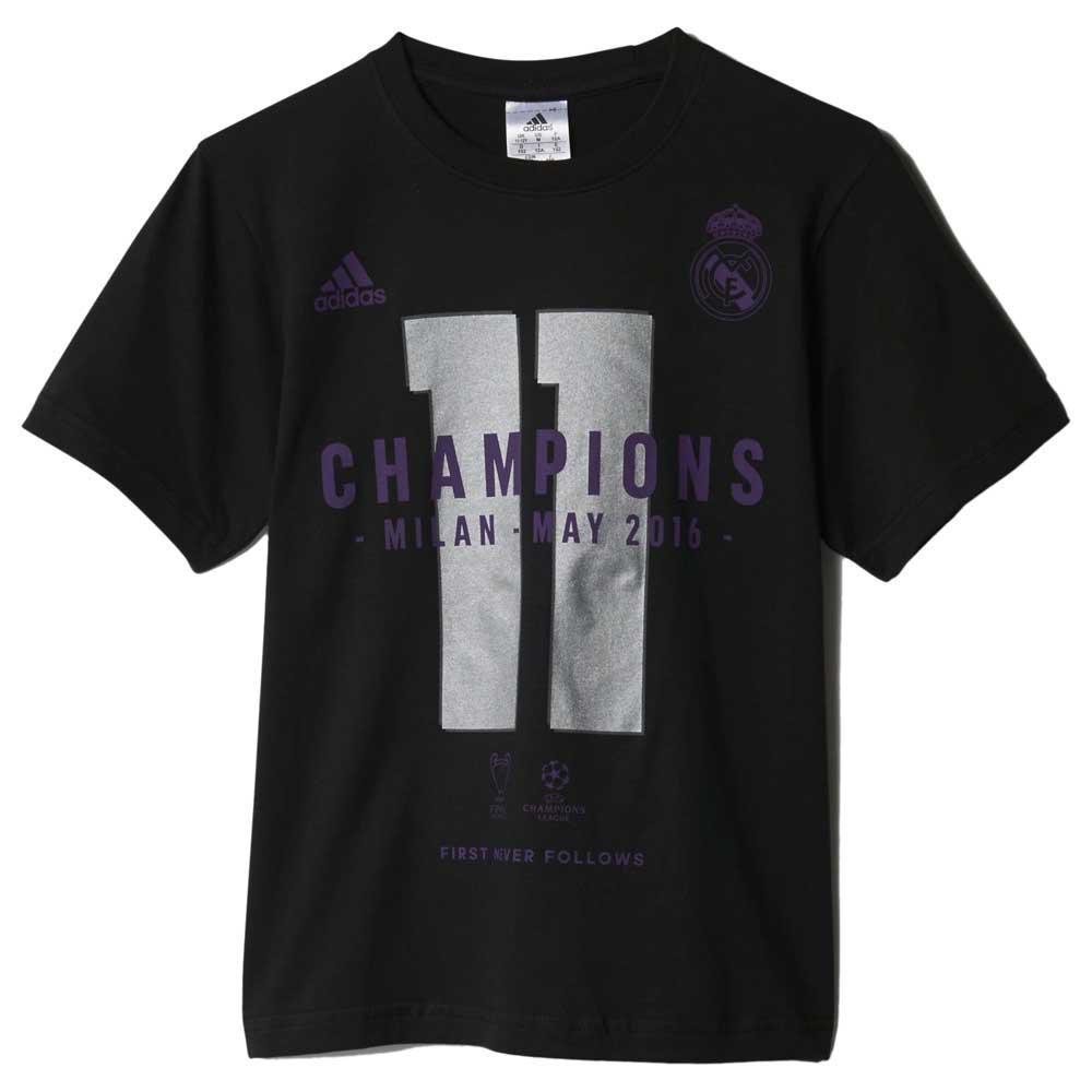 Adidas Real Madrid Ucl Winner 15/16 Junior 13-14 Years Black
