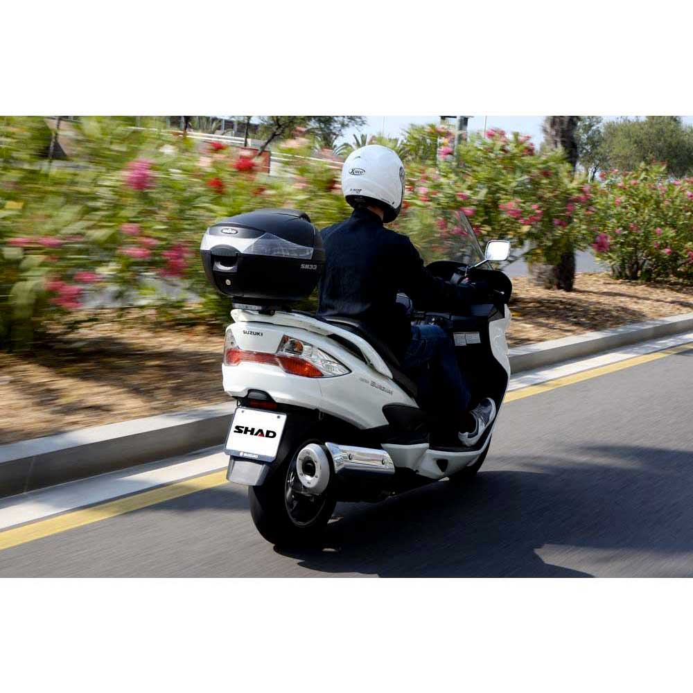 Shad / Top Case Sh33 negro / Shad negro , Maletas Shad , moto , Equipaje dd103d
