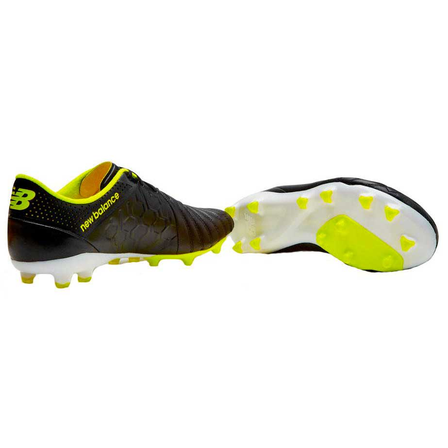 New-Balance-Visaro-K-Leather-Fg-Black-Football- b6038dd10f
