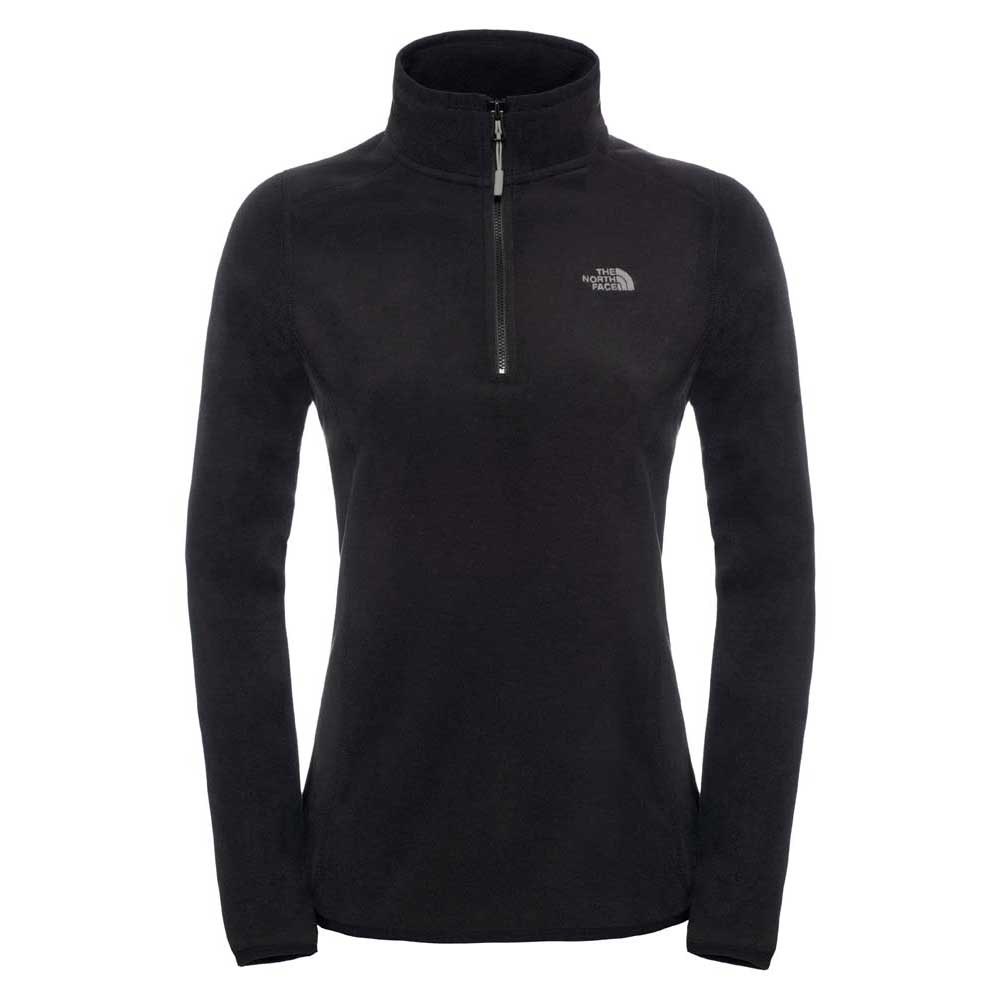 the-north-face-100-glacier-1-4-zip-xs-tnf-black