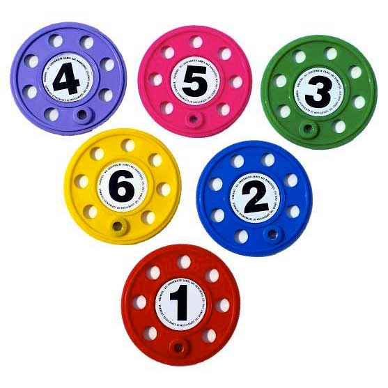 sports-aquatiques-numbered-diving-discs-6-units