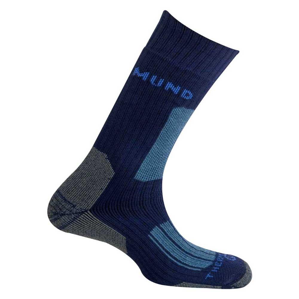 Mund Socks Everest Thermolite Socks EU 34-37 Navy