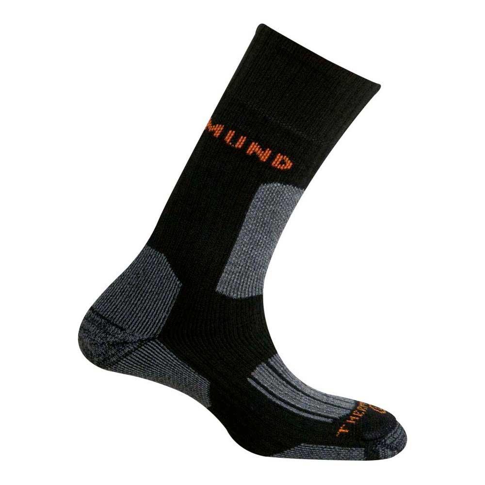 Mund Socks Everest Thermolite Socks EU 34-37 Black