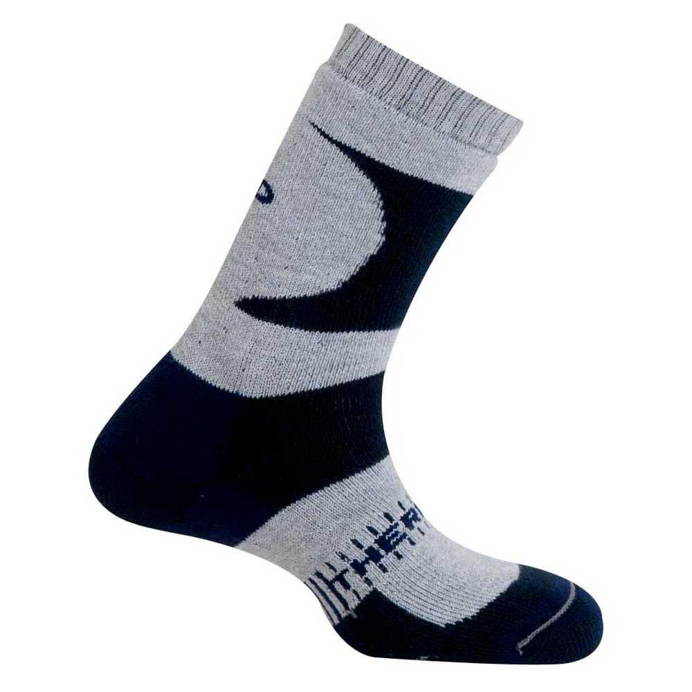 Mund Socks K2 Thermolite Socks EU 34-37 Grey