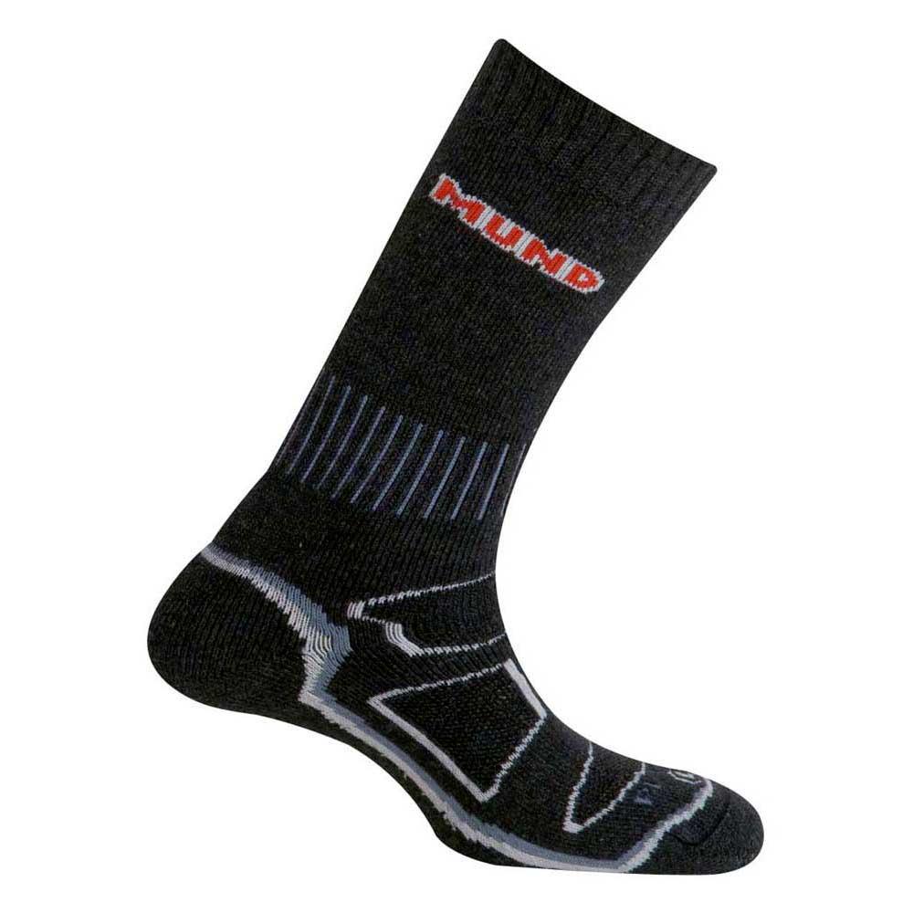 Mund Socks Makalu Wool Primaloft Socks EU 34-37 Black