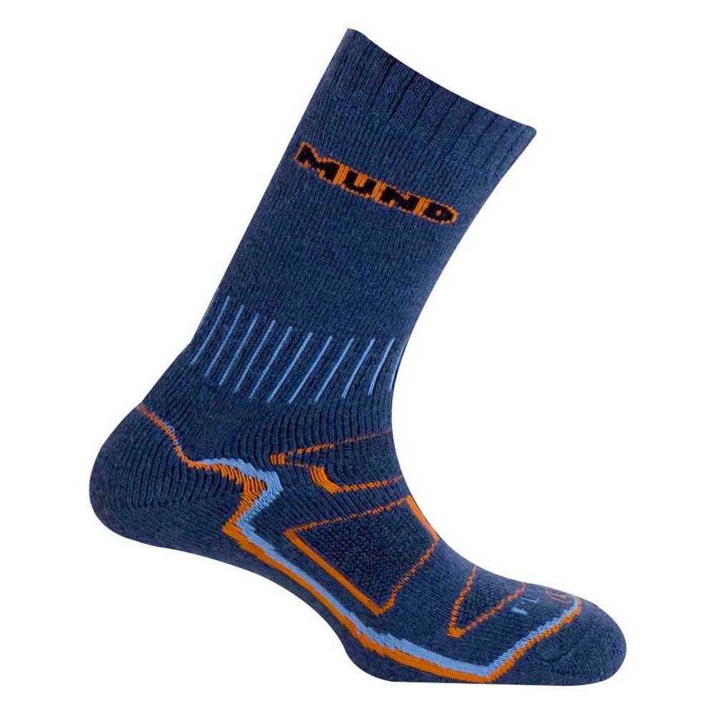 Mund Socks Makalu Wool Primaloft Socks EU 34-37 Blue