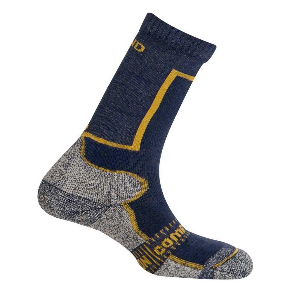 Mund Socks Pamir Socks EU 34-37 Navy / Bronze