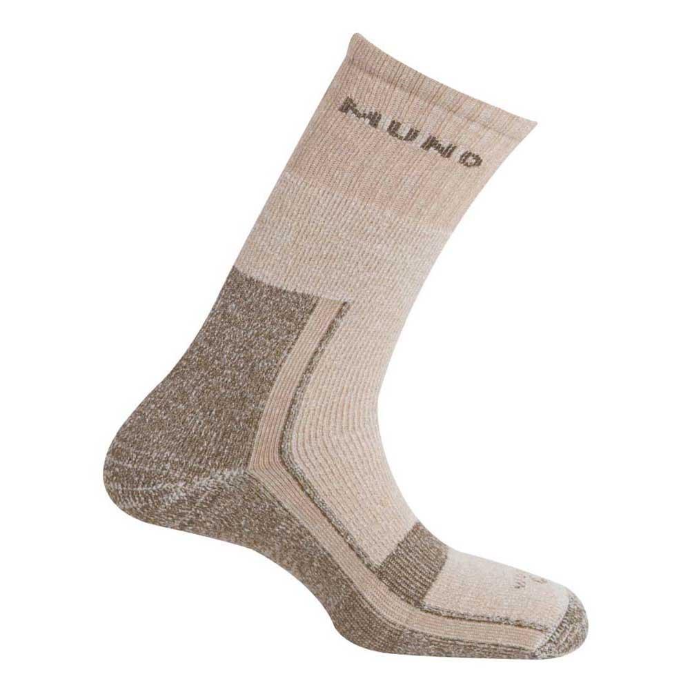 Mund Socks Altai Wool Merino Socks EU 34-37 Brown