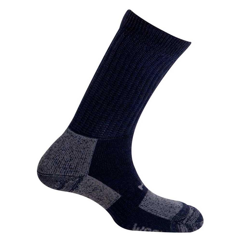 Mund Socks Tesla Wool Merino Socks EU 34-37 Navy