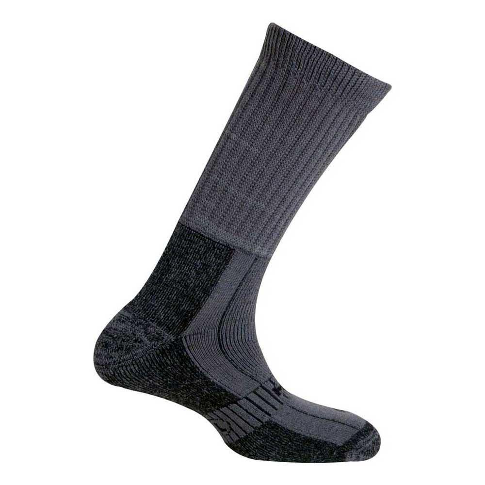 Mund Socks Explorer Wool Merinol Socks EU 34-37 Grey