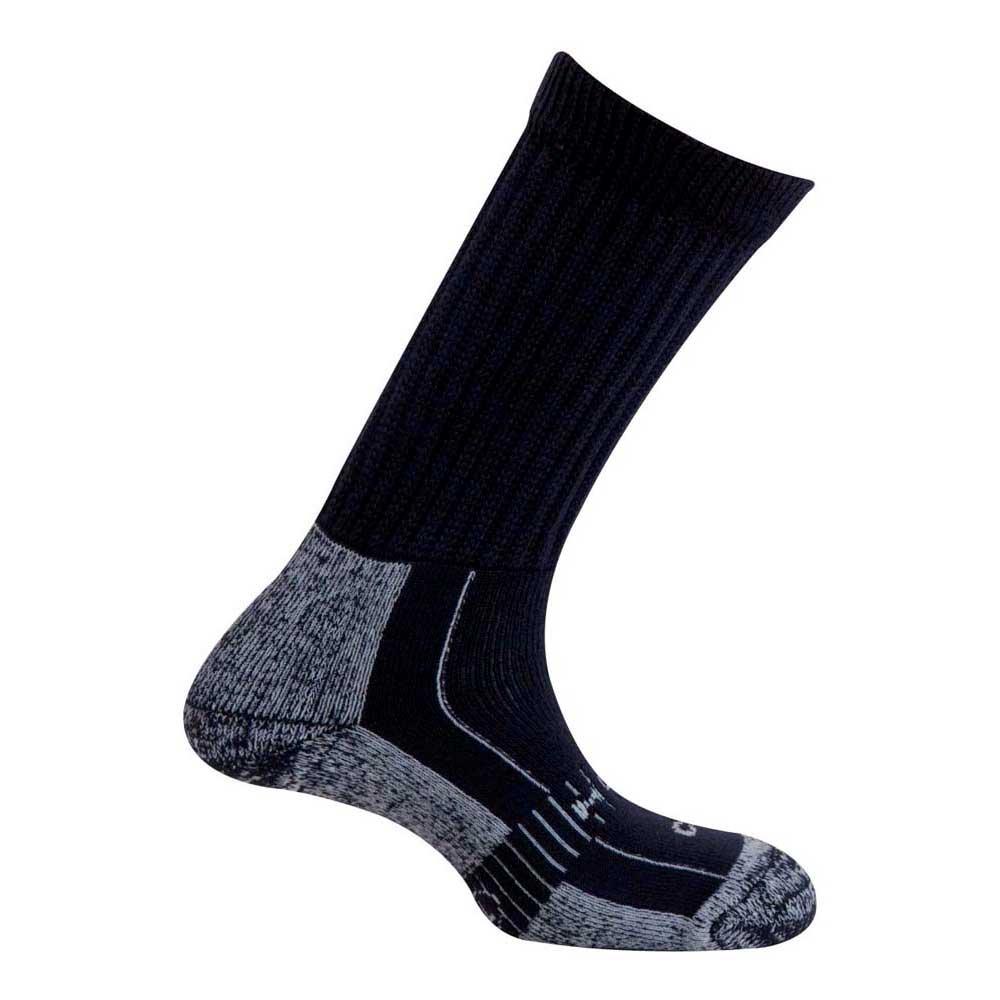 Mund Socks Explorer Wool Merinol Socks EU 34-37 Navy