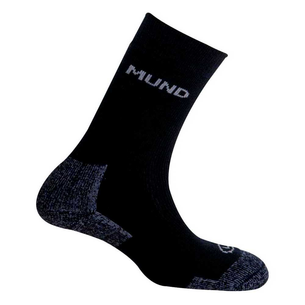 Mund Socks Artic Wool Merino Socks EU 34-37 Navy