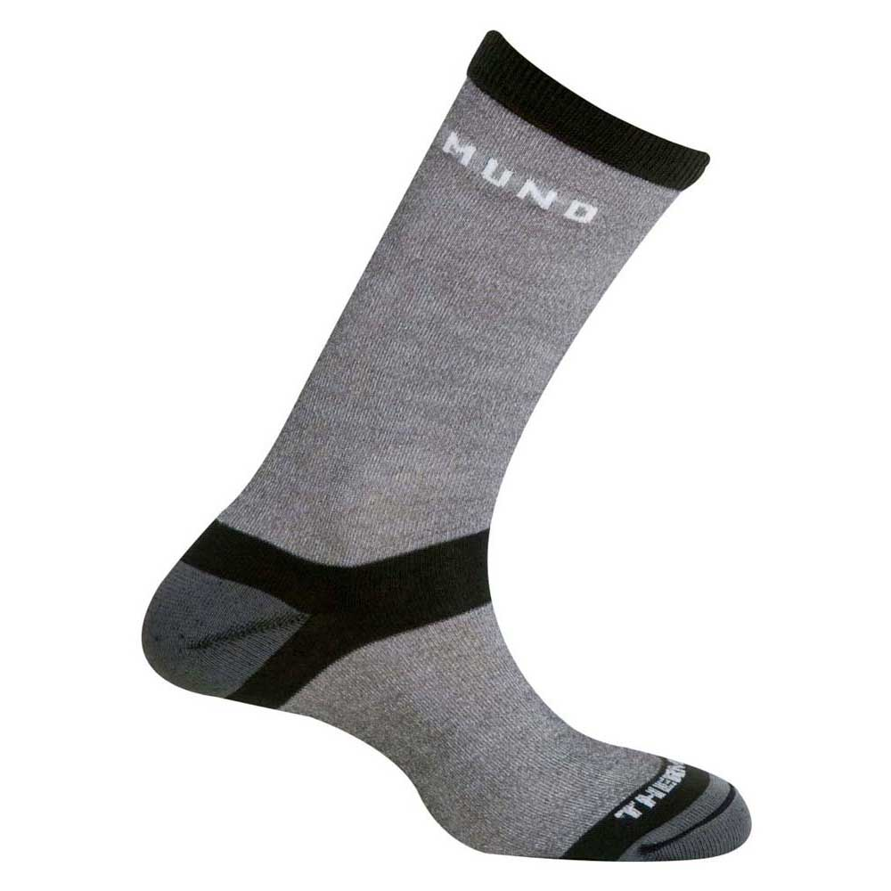 Mund Socks Elbrus Thermolite Socks EU 34-37 Grey