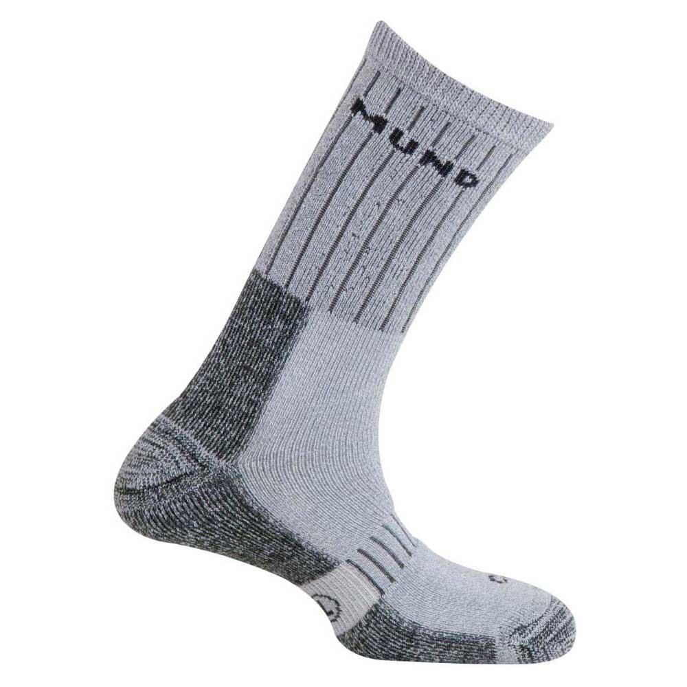 Mund Socks Teide Socks EU 34-37 Grey