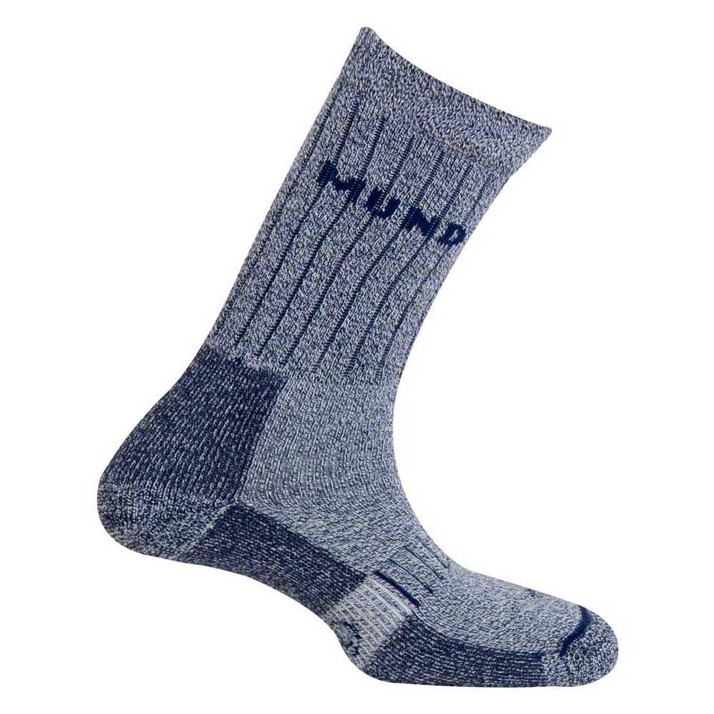 Mund Socks Teide Socks EU 34-37 Navy