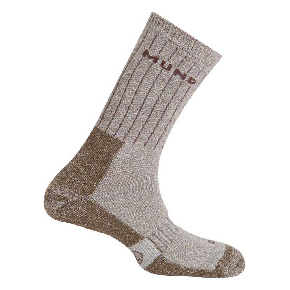 Mund Socks Teide Socks EU 34-37 Brown
