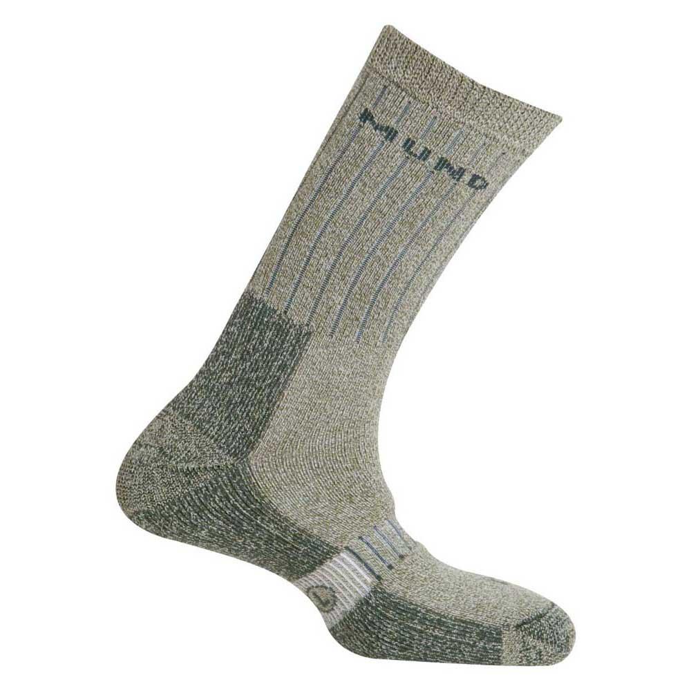 Mund Socks Teide Socks EU 34-37 Green