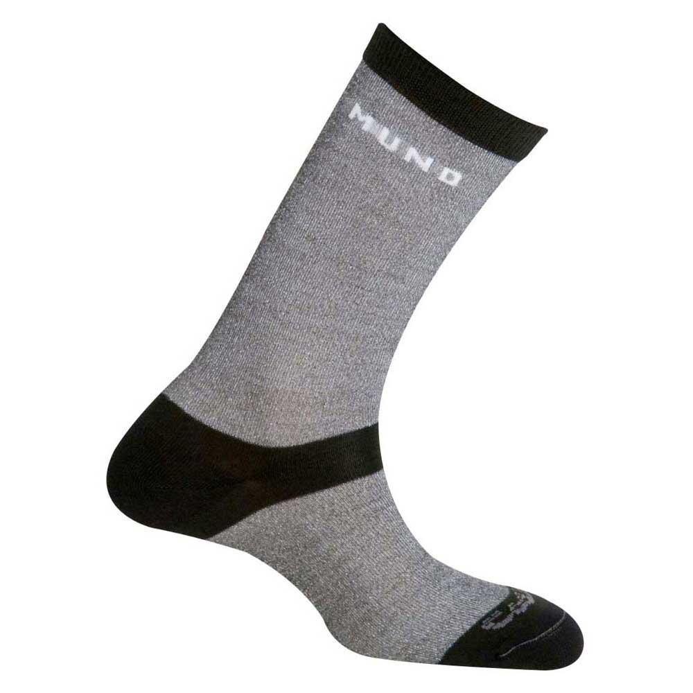 Mund Socks Sahara Coolmax Socks EU 34-37 Grey