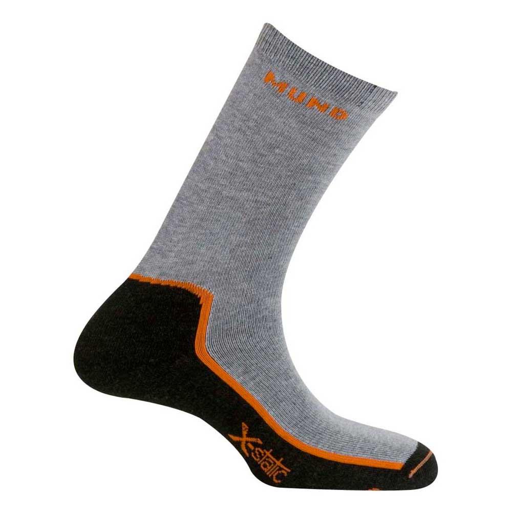 Mund Socks Timanfaya Socks EU 34-37 Grey