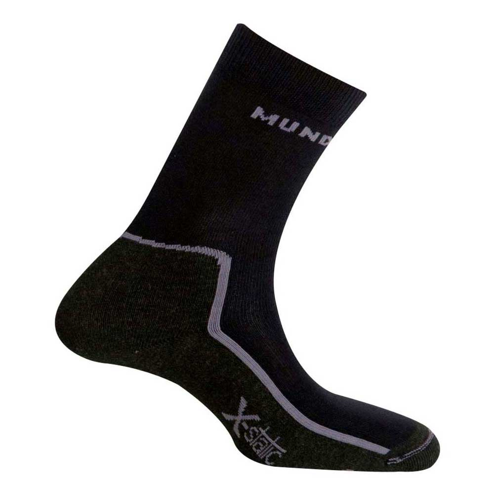 Mund Socks Timanfaya EU 46-49 Black