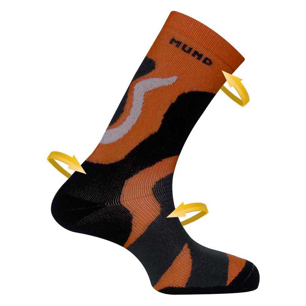 Mund Socks Tramuntana EU 46-49 Orange