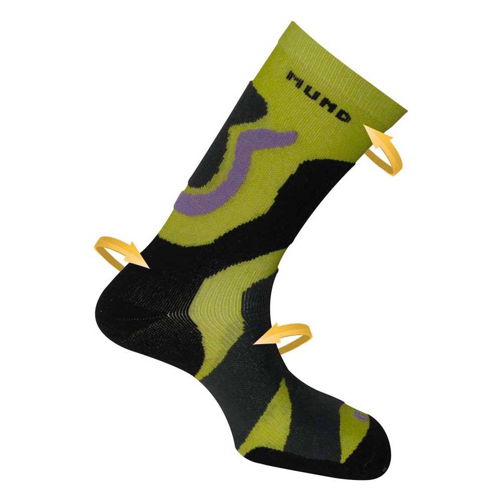Mund Socks Tramuntana EU 46-49 Green