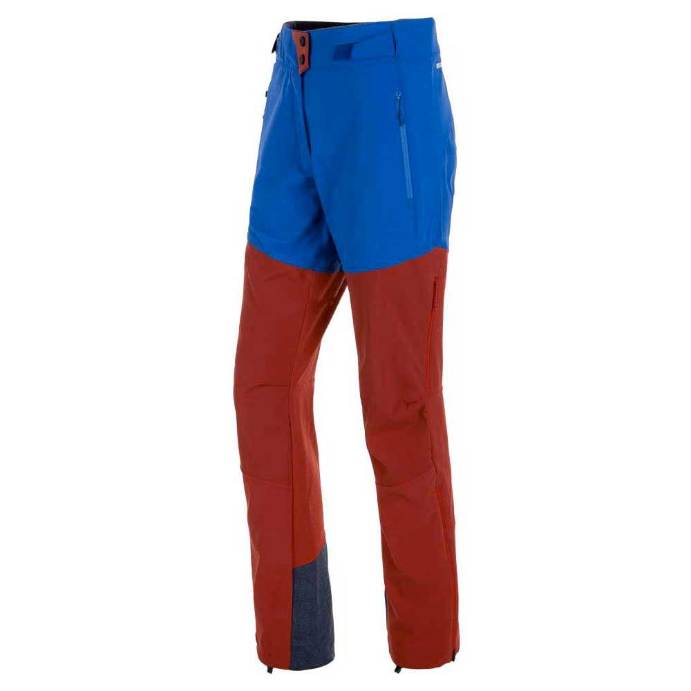Salewa Ortles Windstopper Pants Short L Nautical Blue / Papavero / Royal Blue