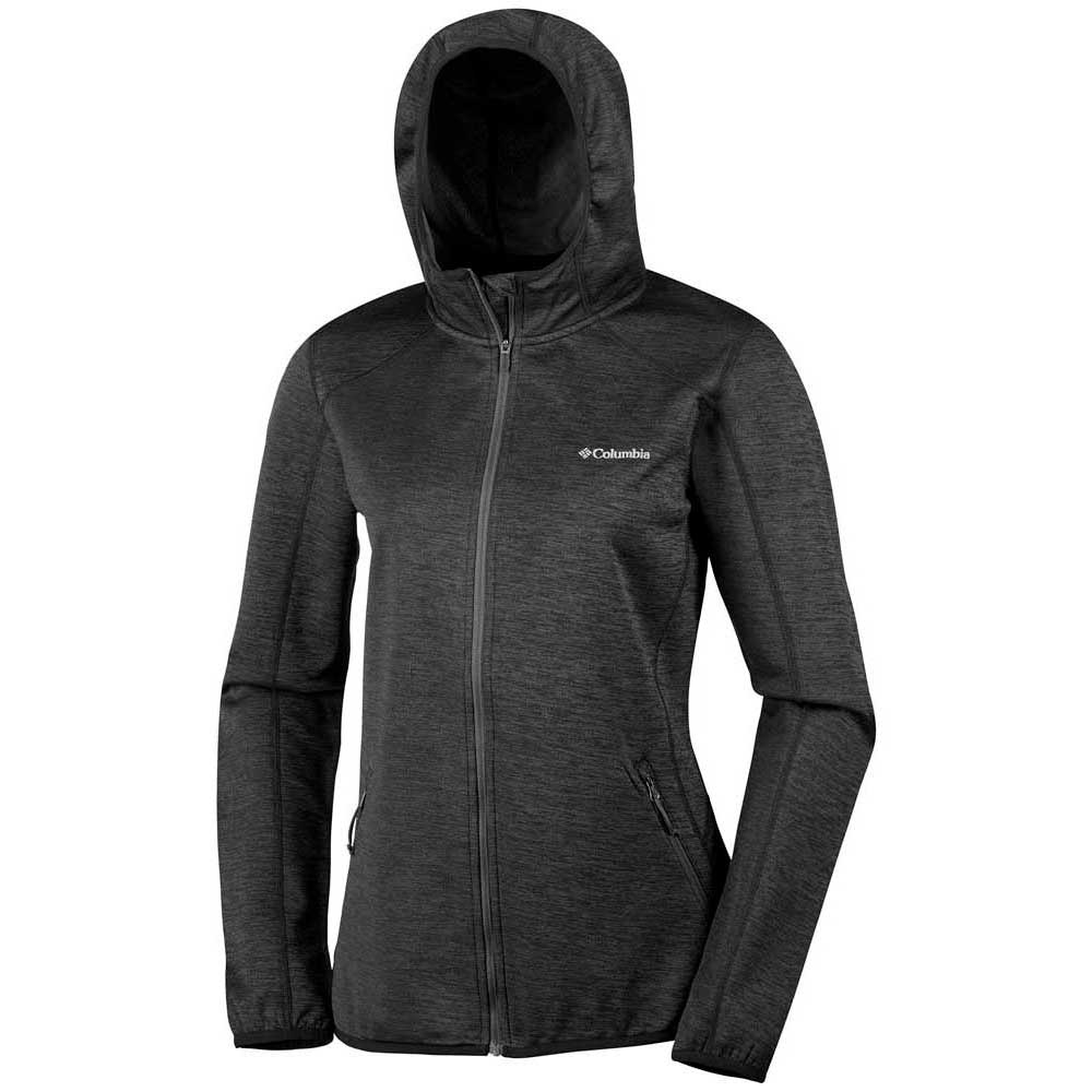 Columbia Sapphire Zip Trail Hooded Full Zip Sapphire Gris , Polaires Columbia , montagne 616ee6