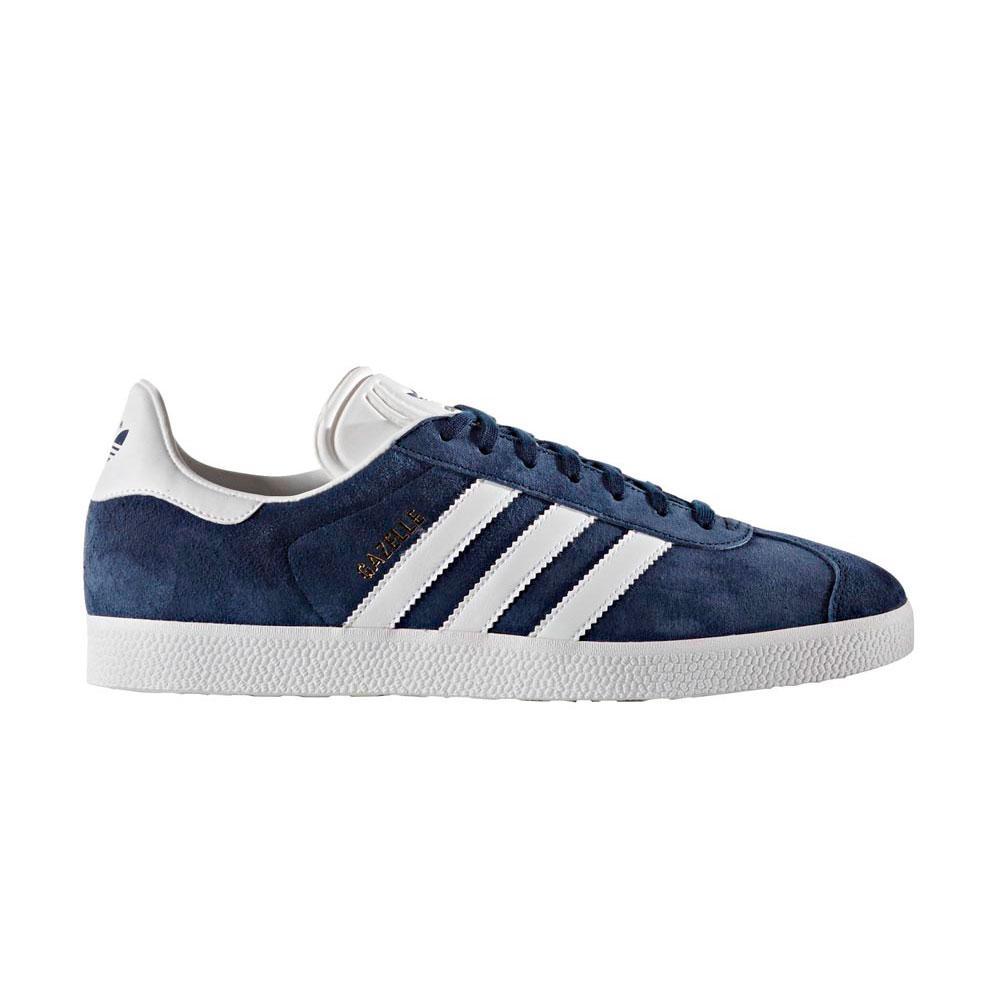 Adidas Originals Gazelle EU 38 Collegiate Navy / White / Gold Met