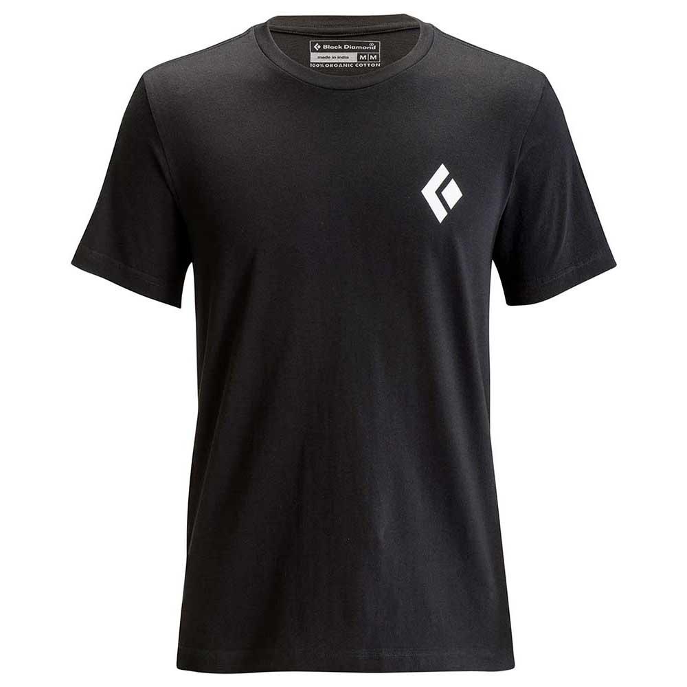 Black Diamond Equipment For Alpinist Short Sleeve T-shirt S Black