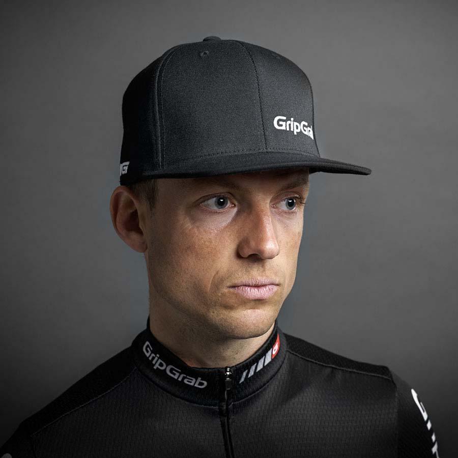 Cappelli Ciclismo Snapback Uomo Gripgrab Cap Black Abbigliamento qAtnOw0p