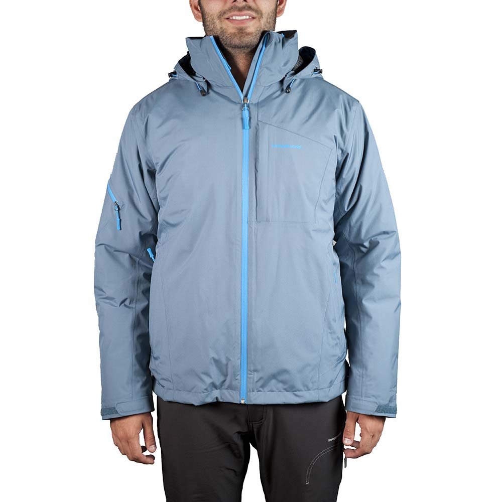 Trangoworld Sojezi Jacket S Grey / Blue