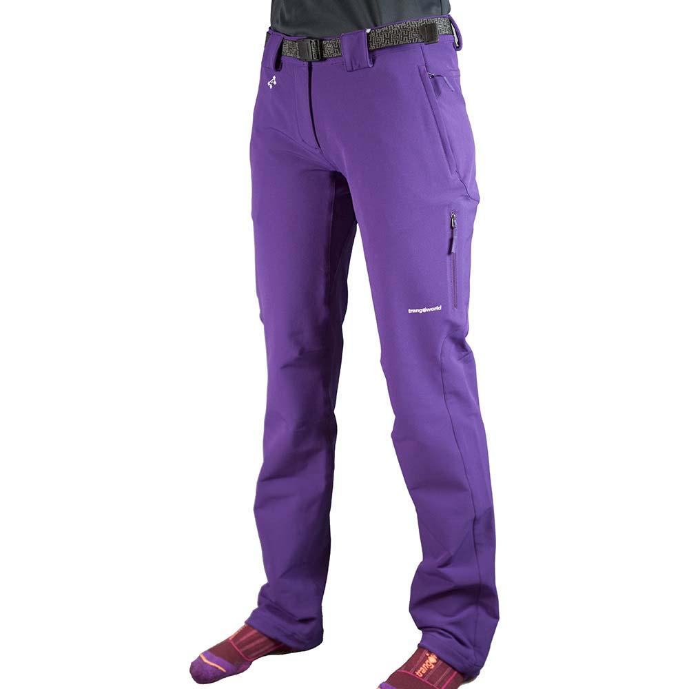 Trangoworld Myan Pants Woman Short XL Acai