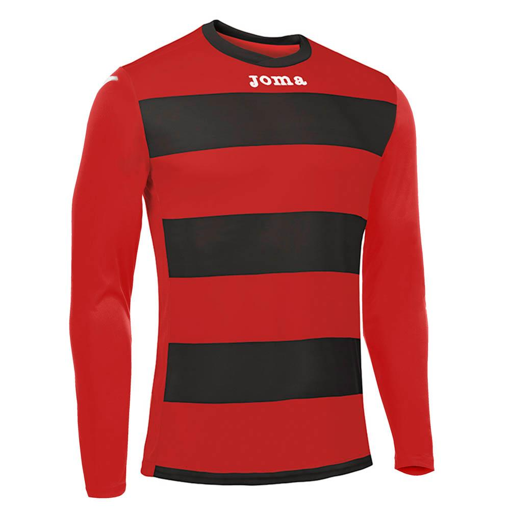 Joma T Shirt Europa Iii S Black / Red