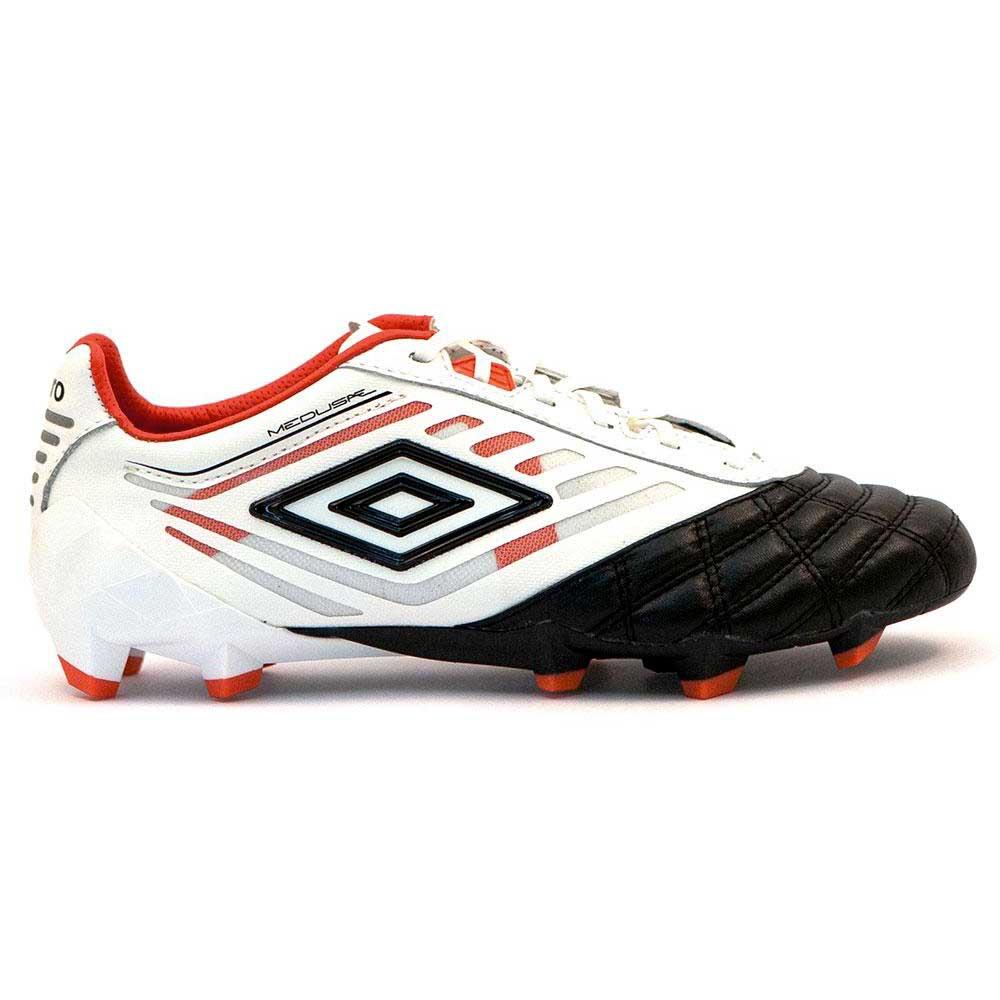 Umbro Chaussures Football Medusæ Pro Hg EU 40 1/2 White / Black / Grenadine