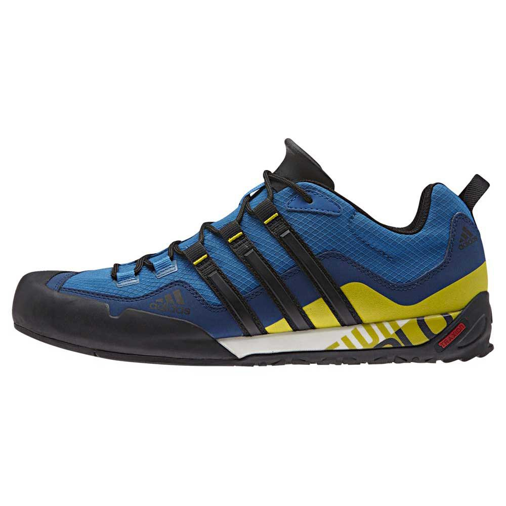 new style 3d0a4 6d6ce adidas Terrex Swift Solo Mens Blue Trail Outdoors Walking Hiking Shoes UK  11. About this product. Picture 1 of 4 Picture 2 of 4 Picture 3 of 4 ...