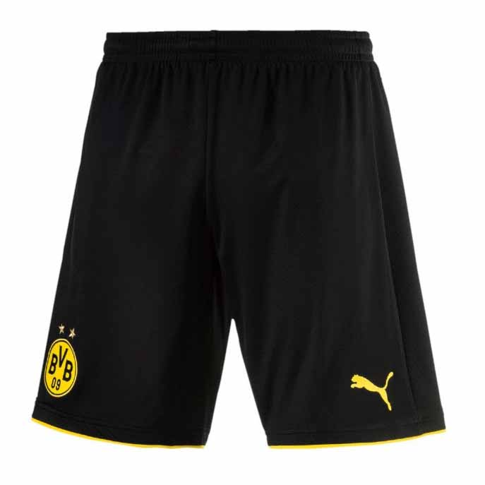 Puma Borussia Dortmund Home 17/18 L Black / Yellow