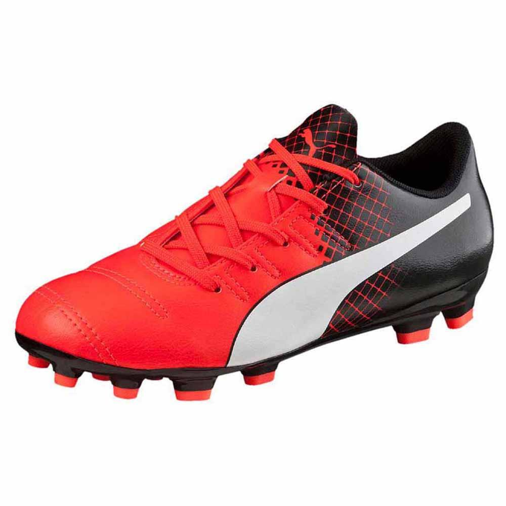 Puma Chaussures Football Evopower 4.3 Ag EU 36 Red / White