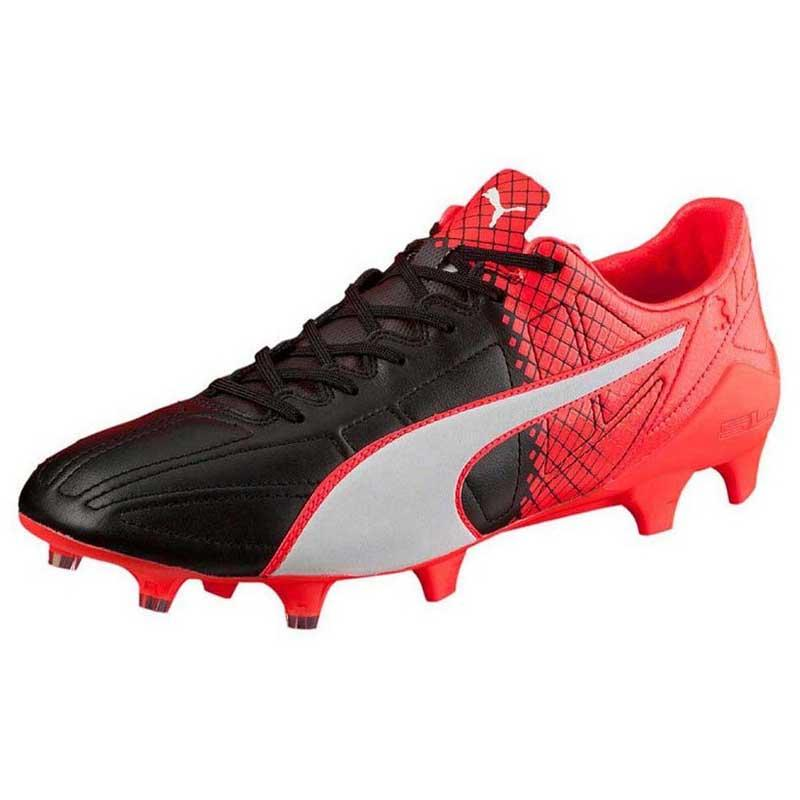 9a4bb69e45b76 Puma Evospeed Sl Leather Ii Fg Black   White