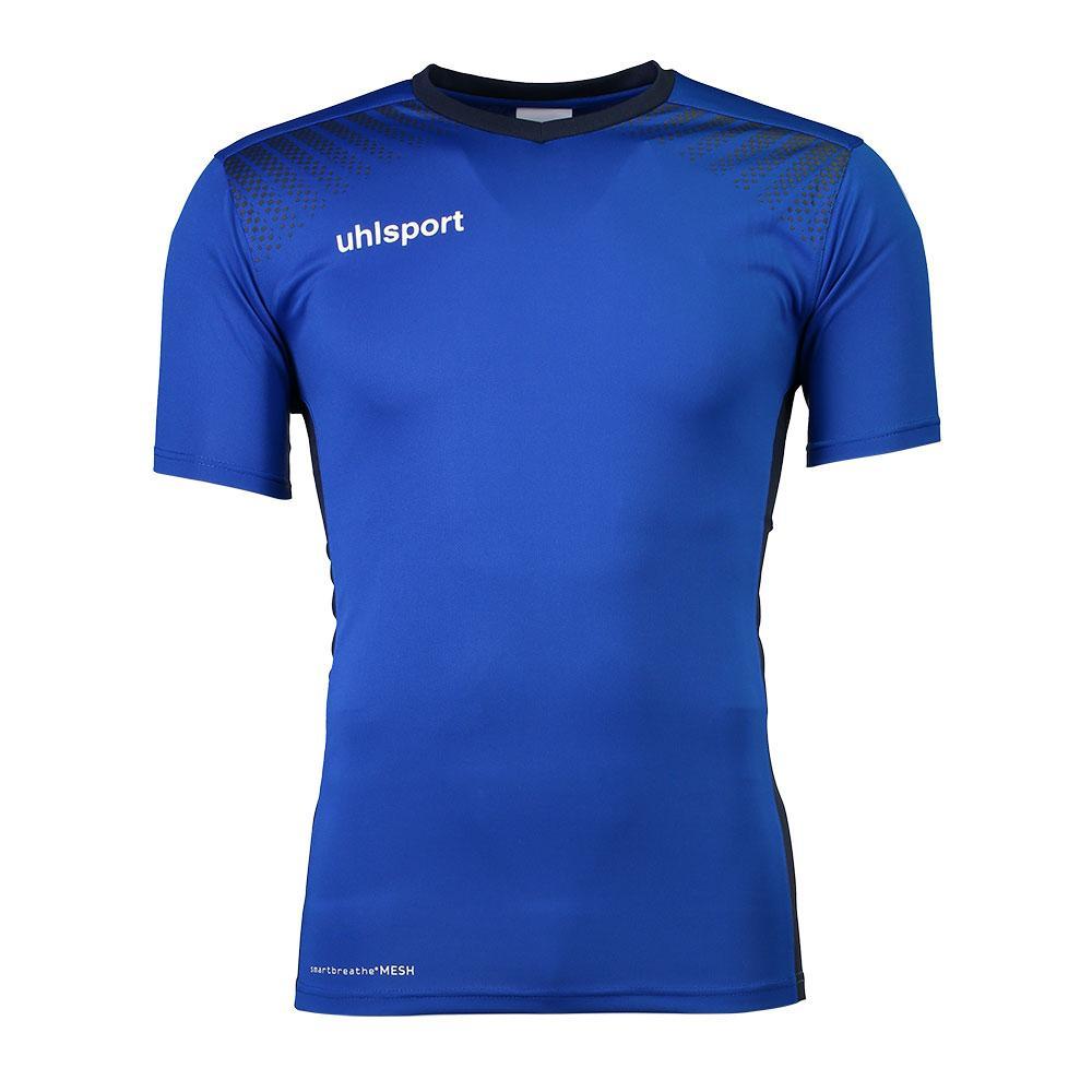 Uhlsport Goal Shirt Ss S Azure Blue / Navy