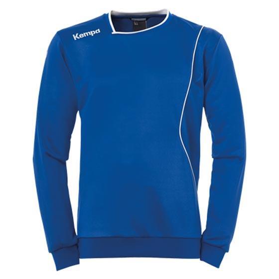Kempa Sweatshirt Curve Training S Royal / White