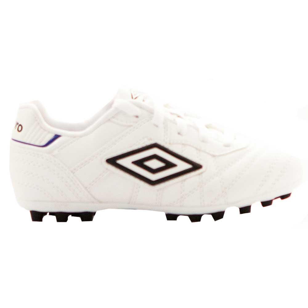 Umbro Chaussures Football Speciali Eternal Club Ag EU 27 1/2 White / Black / Clematis Blue