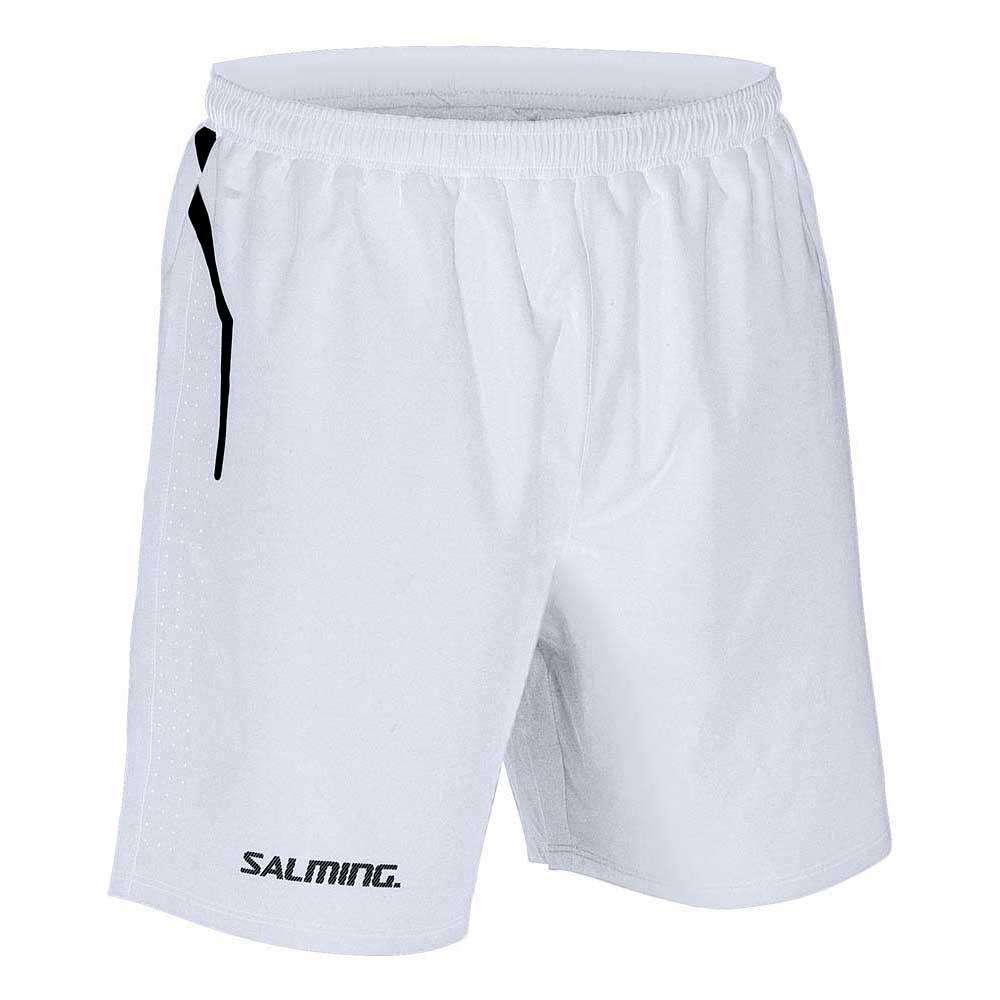 Salming Pro Training Shorts S White