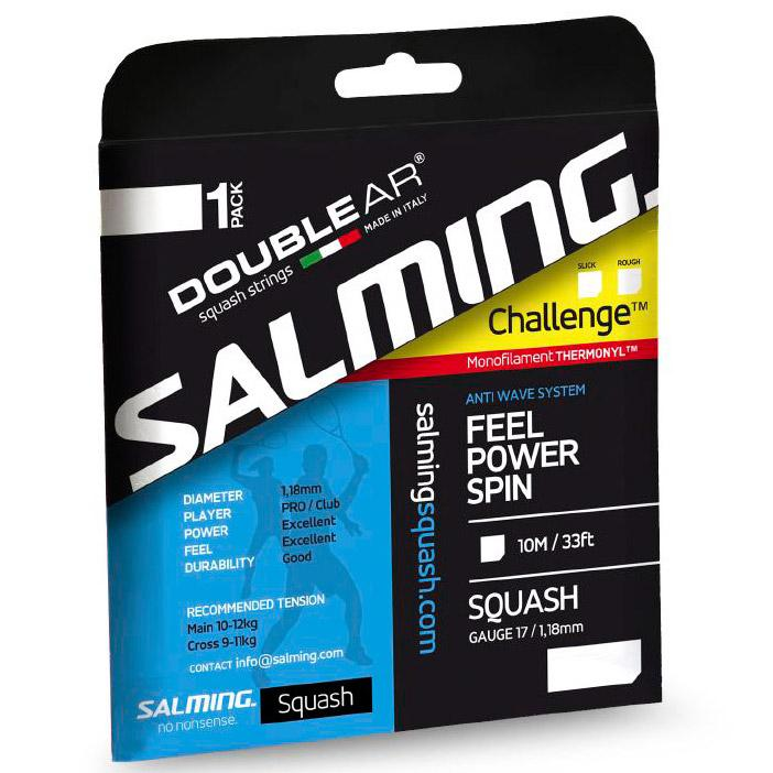 Salming Challenge Slick 10 M 1.18 mm Purple / Safety Yellow