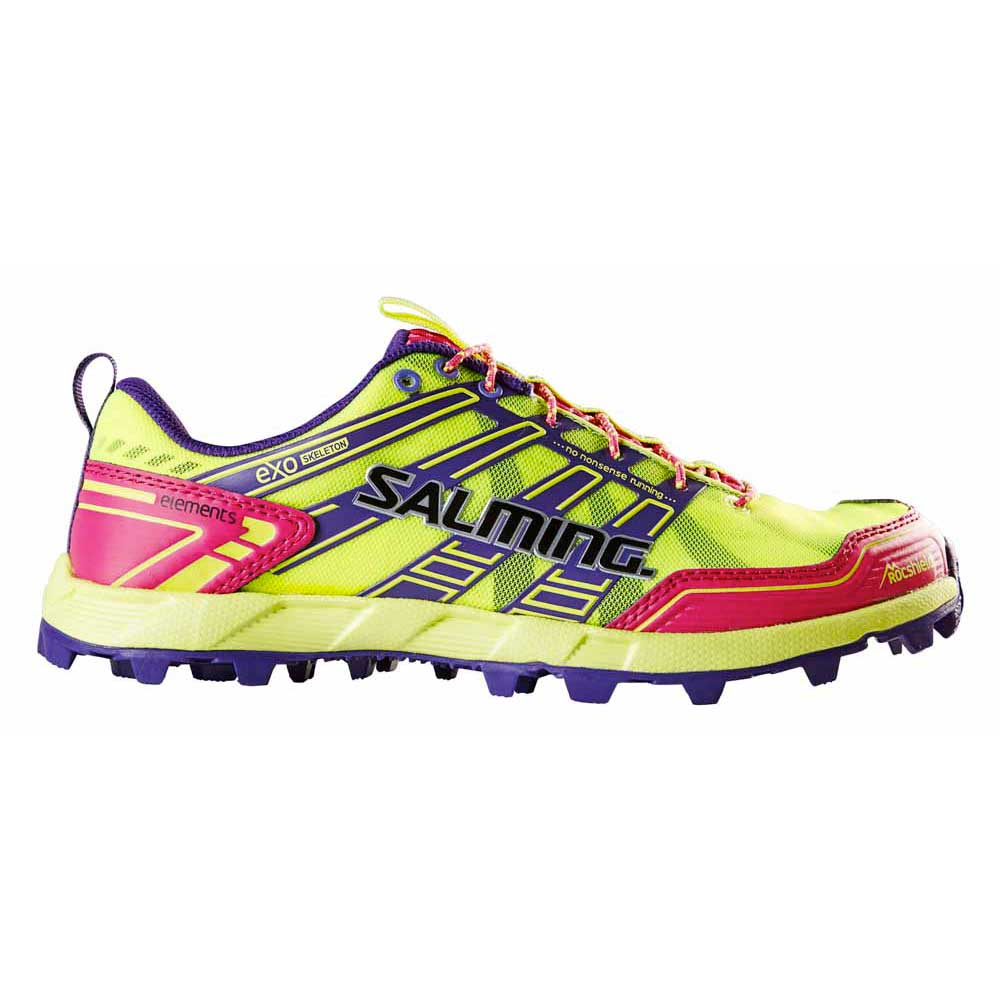 Salming Elements EU 37 1/3 Safety Yellow / Pink Glo