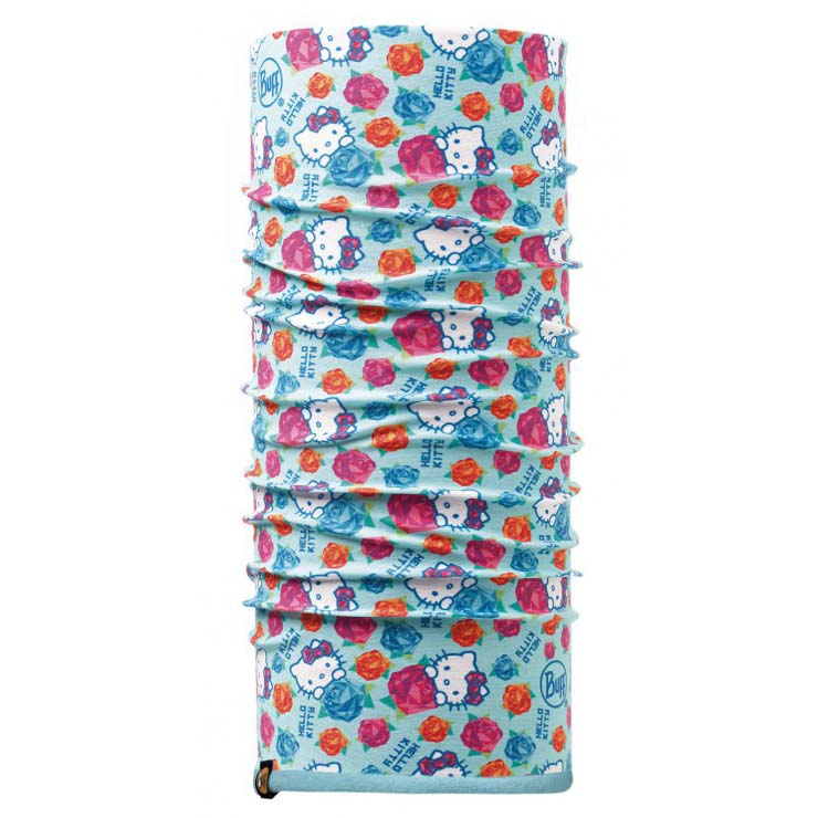 Buff ® Hello Kitty Polar Child One Size Roses Turquoise / Blue Capri