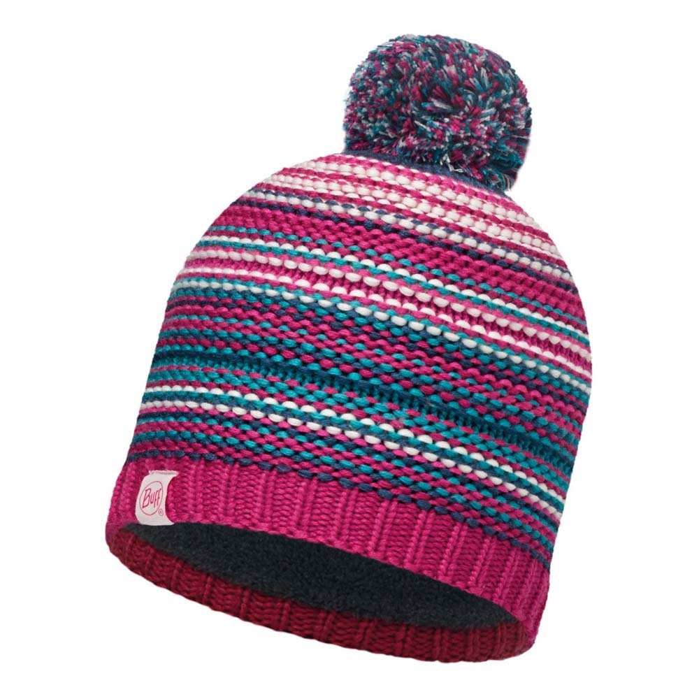 Buff ® Junior Knitted & Polar Hat One Size Amity Pink Cerisse