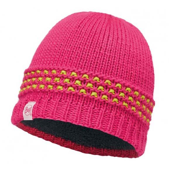 Buff ® Knitted & Polar Junior One Size Jambo Pink Azalea